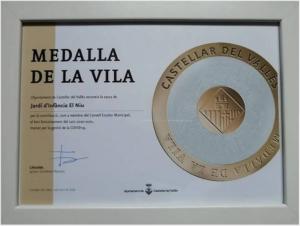medalla de la vila niu